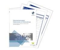 Abbildung von Dokumentenmappe: Datenschutz im Unternehmen | 2018