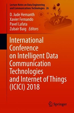 Abbildung von Hemanth / Fernando | International Conference on Intelligent Data Communication Technologies and Internet of Things (ICICI) 2018 | 1. Auflage | 2019 | 26 | beck-shop.de
