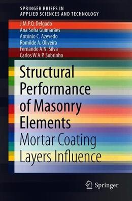 Abbildung von Delgado / Guimarães | Structural Performance of Masonry Elements | 1. Auflage | 2019 | beck-shop.de