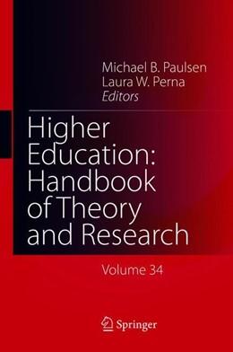 Abbildung von Paulsen / Perna | Higher Education: Handbook of Theory and Research | 1. Auflage | 2019 | 34 | beck-shop.de
