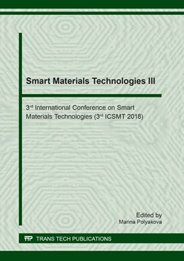 Abbildung von Polyakova | Smart Materials Technologies III | 2018 | 3rd International Conference o... | Volume 779