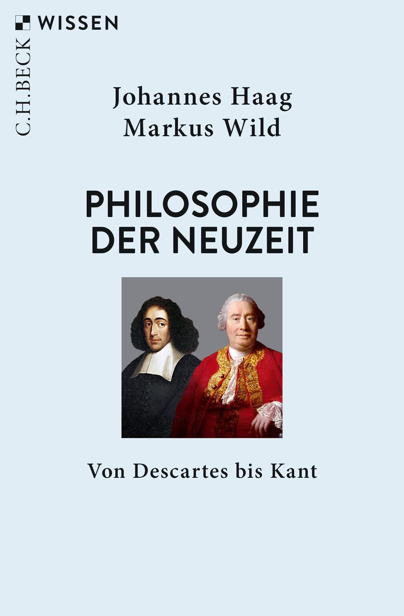 Philosophie der Neuzeit   Haag, Johannes / Wild, Markus, 2019   Buch (Cover)