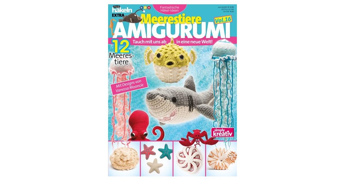 Simply Häkeln Fantastische Häkel Ideen Meerestiere Amigurumi Vol