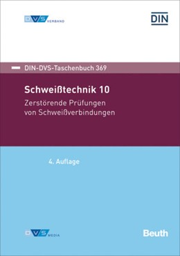Abbildung von DIN-DVS-Taschenbuch 369 Schweißtechnik 10 | 4. Auflage | 2018 | beck-shop.de