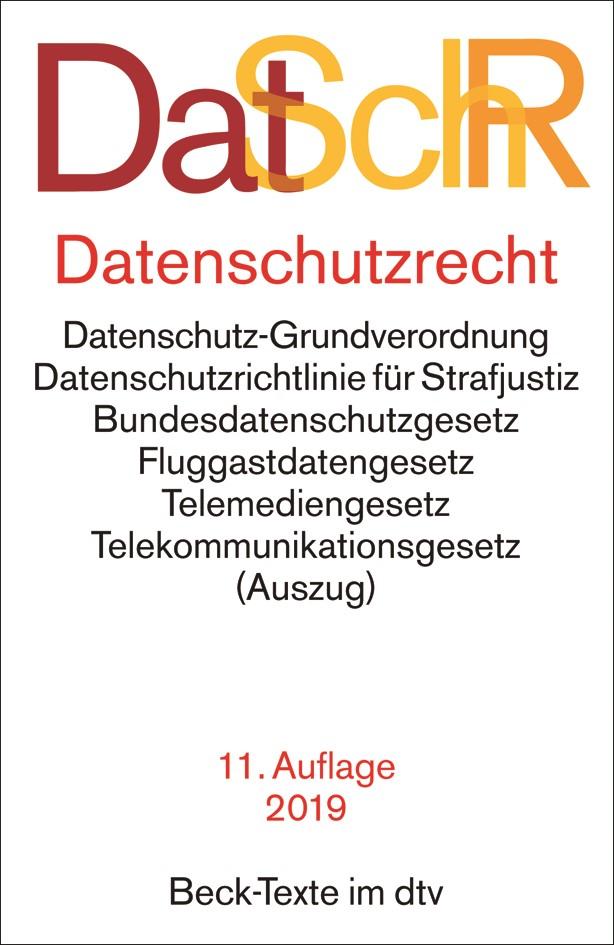 DatSchR: Datenschutzrecht | 11. Auflage, 2018 | Buch (Cover)