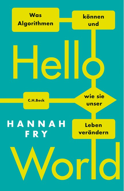 Cover: Hannah Fry, Hello World