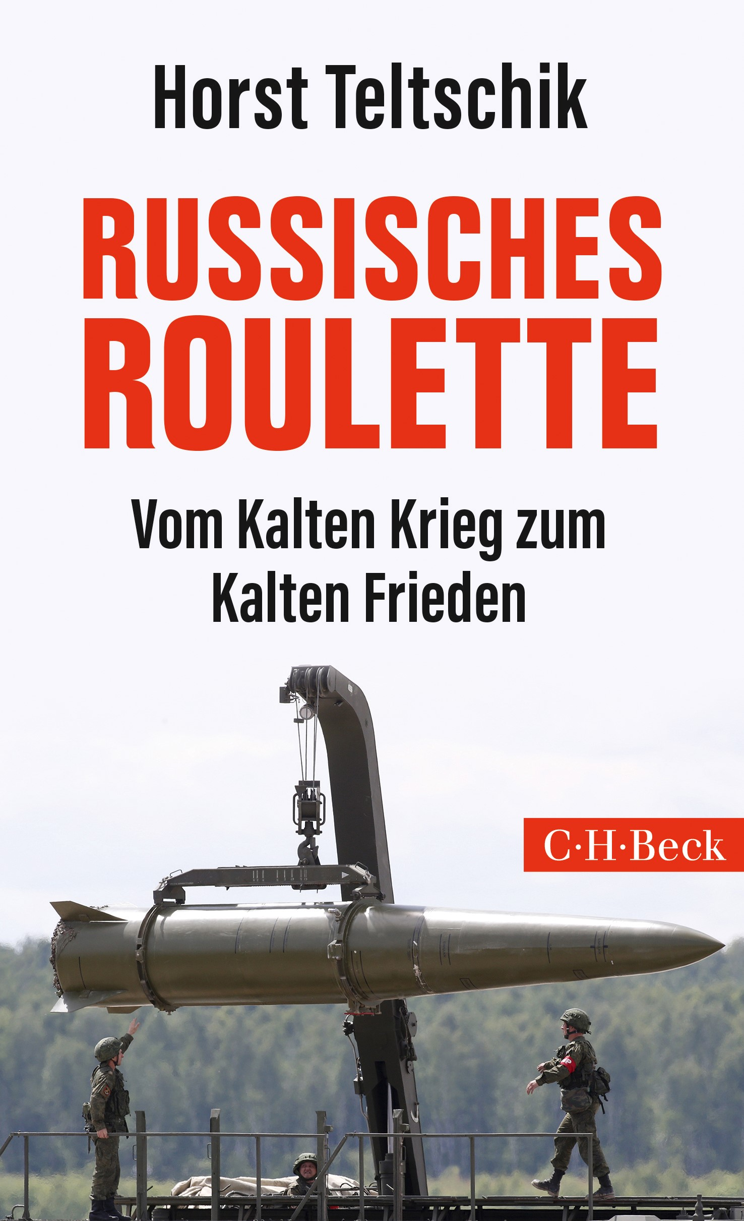 Russisches Roulette | Teltschik, Horst, 2019 | Buch (Cover)