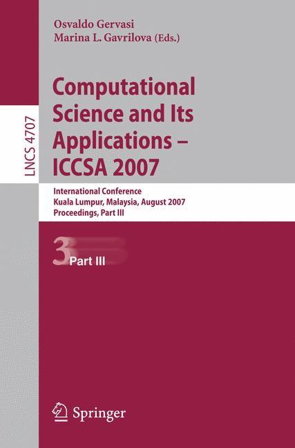 Abbildung von Gervasi   Computational Science and Its Applications - ICCSA 2007   2007