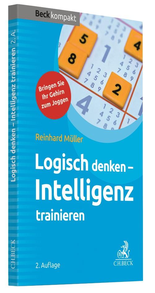 Logisch denken - Intelligenz trainieren | Müller | 2. Auflage, 2019 | Buch (Cover)