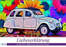 Abbildung von Glineur alias DeVerviers | Liebeserklärung an eine Ente (Wandkalender 2019 DIN A2 quer) | 1. Edition 2018 | 2018 | Kultauto mit Knuddelfaktor (Mo...