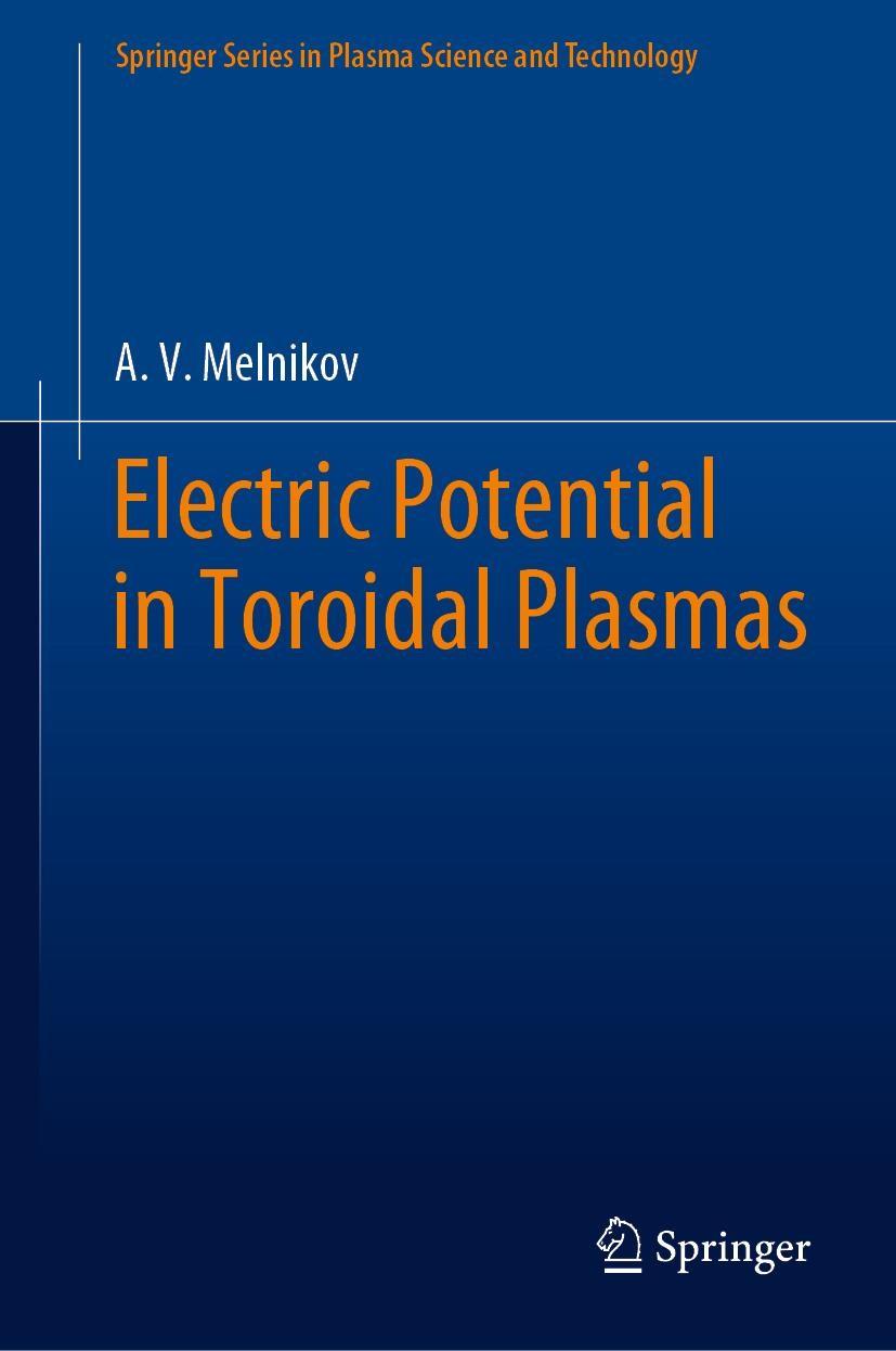 Abbildung von Melnikov | Electric Potential in Toroidal Plasmas | 1st ed. 2019 | 2019