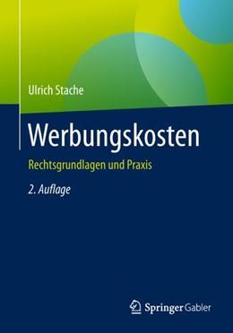 Abbildung von Stache   Werbungskosten   2. Auflage   2018   beck-shop.de