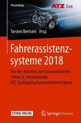 Abbildung von Bertram | Fahrerassistenzsysteme 2018 | 2019 | Von der Assistenz zum automati...