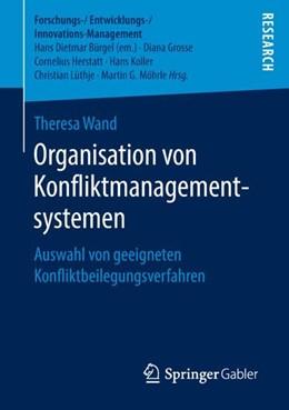 Abbildung von Wand | Organisation von Konfliktmanagementsystemen | 1. Auflage | 2018 | beck-shop.de