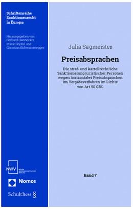 Abbildung von Sagmeister   Preisabsprachen   1. Auflage   2018   beck-shop.de