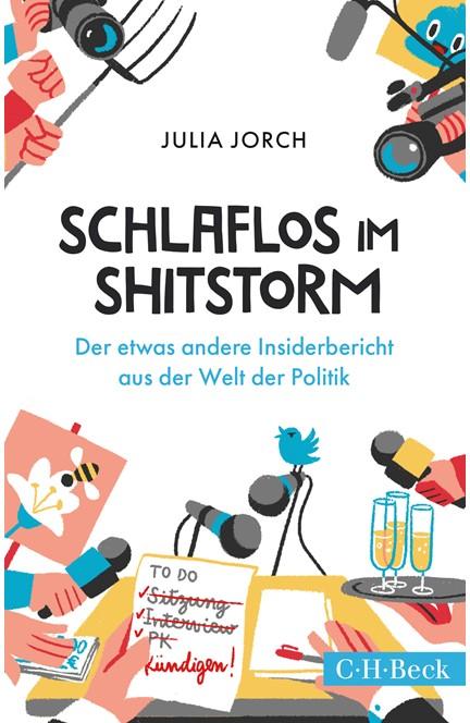 Cover: Julia Jorch, Schlaflos im Shitstorm