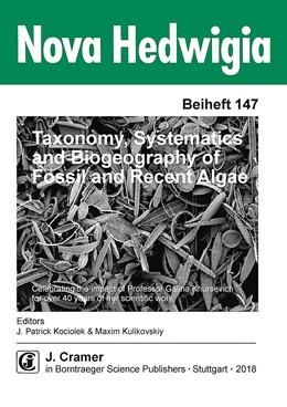 Abbildung von Kociolek / Kulikovskiy   Taxonomy, Systematics and Biogeography of Fossil and Recent Algae   2018   Morphology, taxonomy, biogeogr...   147