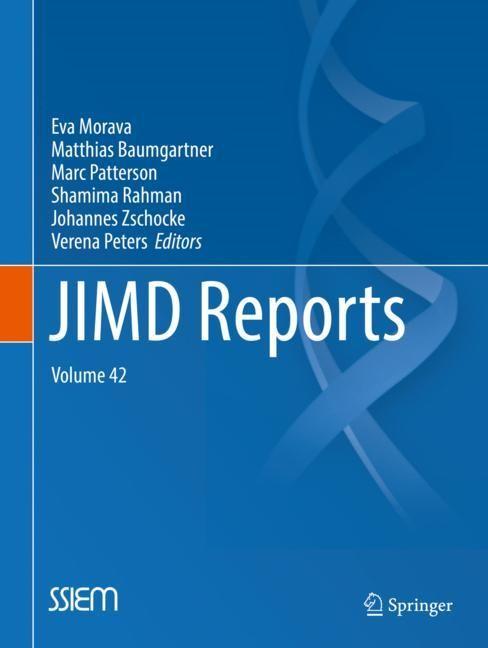 JIMD Reports, Volume 42 | Morava / Baumgartner / Patterson / Rahman / Zschocke / Peters | 1st ed. 2018, 2018 | Buch (Cover)