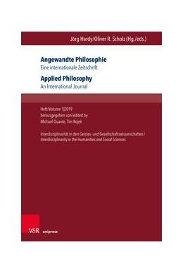 Abbildung von Quante / Rojek | Angewandte Philosophie. Eine internationale Zeitschrift / Applied Philosophy. An International Journal | 1. Auflage | 2019 | beck-shop.de