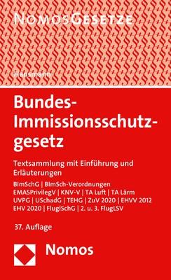 Abbildung von Hansmann | Bundes-Immissionsschutzgesetz | 37. Auflage | 2019