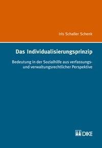Das Individualisierungsprinzip | Schaller Schenk, 2018 | Buch (Cover)