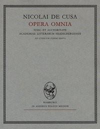 Nicolai de Cusa Opera omnia / Nicolai de Cusa Opera omnia | Kallen / Nikolaus von Kues / | 2., neubearb. Aufl., 1965 | Buch (Cover)
