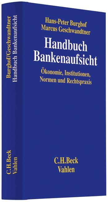 Handbuch Bankenaufsicht | Burghof / Geschwandtner, 2017 | Buch (Cover)