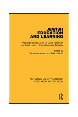 Abbildung von Abramson / Parfitt | Jewish Education and Learning | 1. Auflage | 2018 | 1 | beck-shop.de