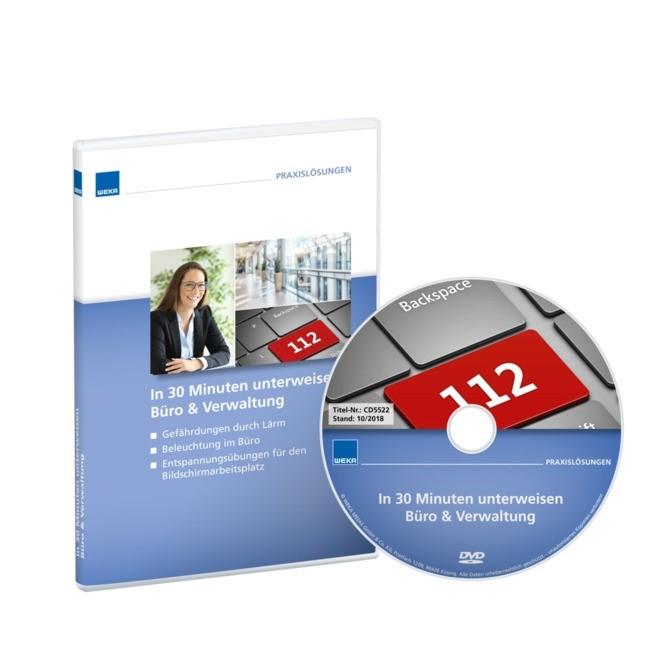 In 30 Minuten unterweisen - Büro & Verwaltung 2, 2018 (Cover)