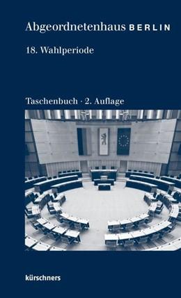 Abbildung von Holzapfel | Abgeordnetenhaus Berlin 18. Wahlperiode | 2. Auflage | 2018