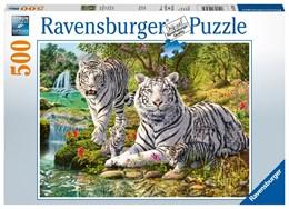 Abbildung von Weiße Raubkatze - Puzzle mit 500 Teilen | 2019