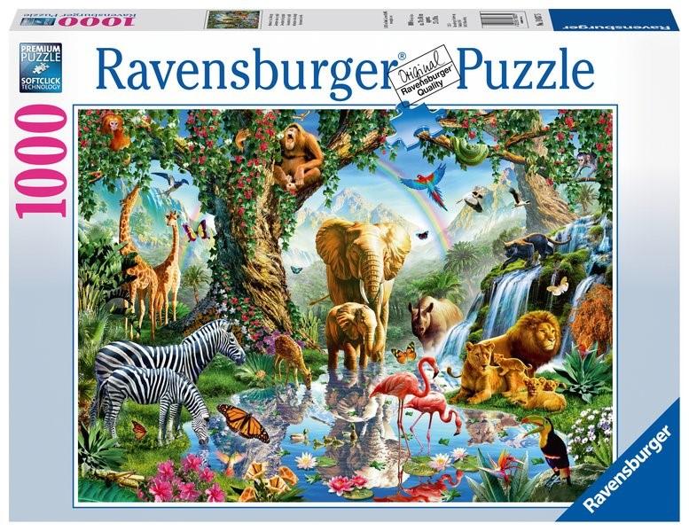Abenteuer im Dschungel - Puzzle mit 1000 Teilen, 2019 (Cover)