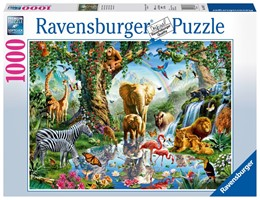 Abbildung von Abenteuer im Dschungel - Puzzle mit 1000 Teilen | 2019