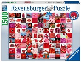 Abbildung von 99 beautiful red things - Puzzle mit 1500 Teilen | 2019
