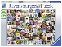 Abbildung von 99 Katzen - Puzzle mit 1500 Teilen | 2019
