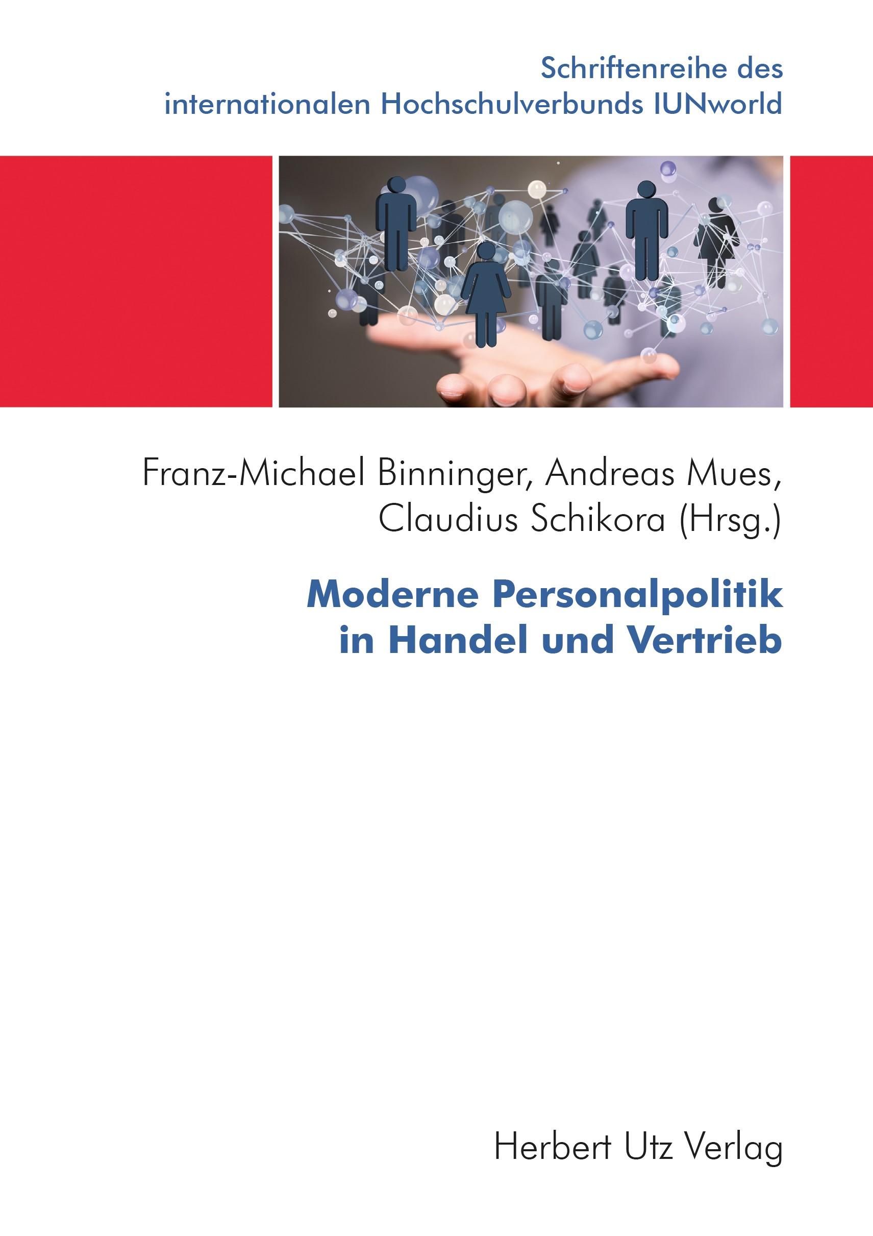 Moderne Personalpolitik in Handel und Vertrieb | Binninger / Mues / Schikora, 2018 | Buch (Cover)