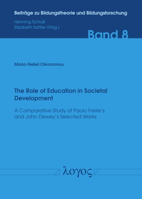 The Role of Education in Societal Development | Oikonomou, 2018 | Buch (Cover)