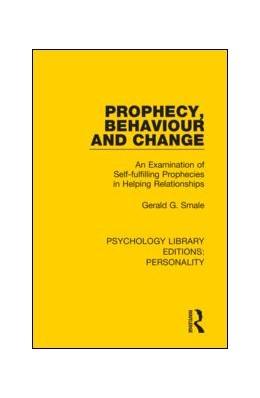 Abbildung von Smale | Prophecy, Behaviour and Change | 1. Auflage | 2019 | 14 | beck-shop.de