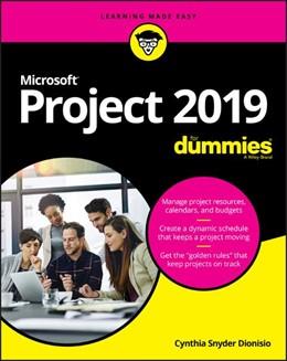 Abbildung von Dionisio | Microsoft Project 2019 For Dummies | 1. Auflage | 2019 | beck-shop.de