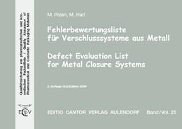 Abbildung von Polan / Firmen / Harl | Fehlerbewertungsliste für Verschlusssysteme aus Metall | 2009