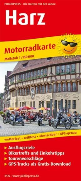 Abbildung von Motorradkarte Harz 1:150 000 | 9. Auflage | 2018 | Mit Ausflugszielen, Einkehr- &...