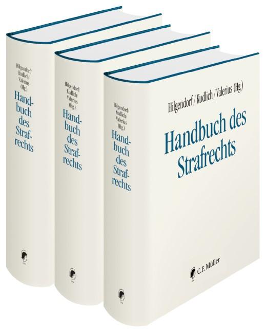 Handbuch des Strafrechts | Hilgendorf / Kudlich / Valerius (Hrsg.), 2018 (Cover)