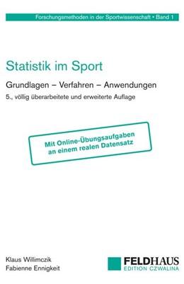Abbildung von Willimczik / Ennigkeit | Statistik im Sport | 5. Auflage | 2018 | Grundlagen - Verfahren - Anwen...