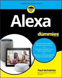 Abbildung von McFedries   Alexa For Dummies   2018