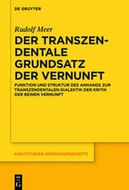 Abbildung von Meer   DertranszendentaleGrundsatzderVernunft   2018   FunktionundStrukturdesAnha...   207