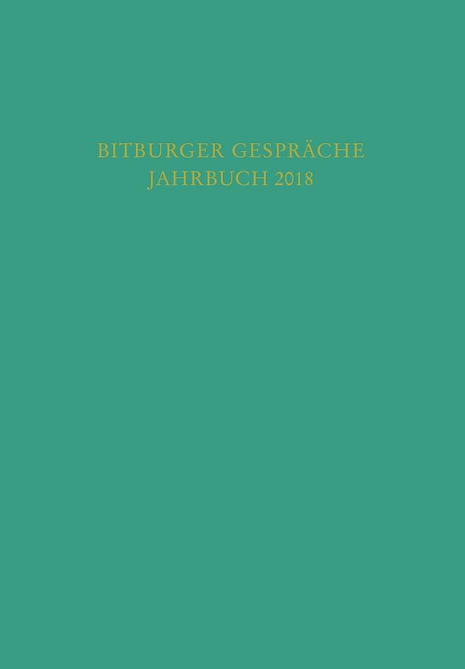Bitburger Gespräche, Jahrbuch 2018, 2019 | Buch (Cover)