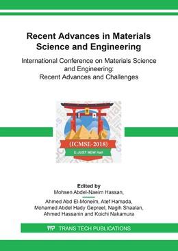 Abbildung von Hassan / Moneim | Recent Advances in Materials Science and Engineering | 1. Auflage | 2018 | Volume 786 | beck-shop.de
