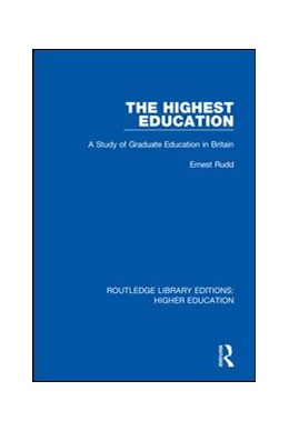 Abbildung von Rudd | The Highest Education | 1. Auflage | 2018 | 22 | beck-shop.de