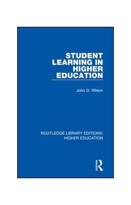 Abbildung von Wilson | Student Learning in Higher Education | 2018 | 34
