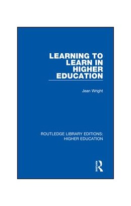 Abbildung von Wright | Learning to Learn in Higher Education | 2018 | 35
